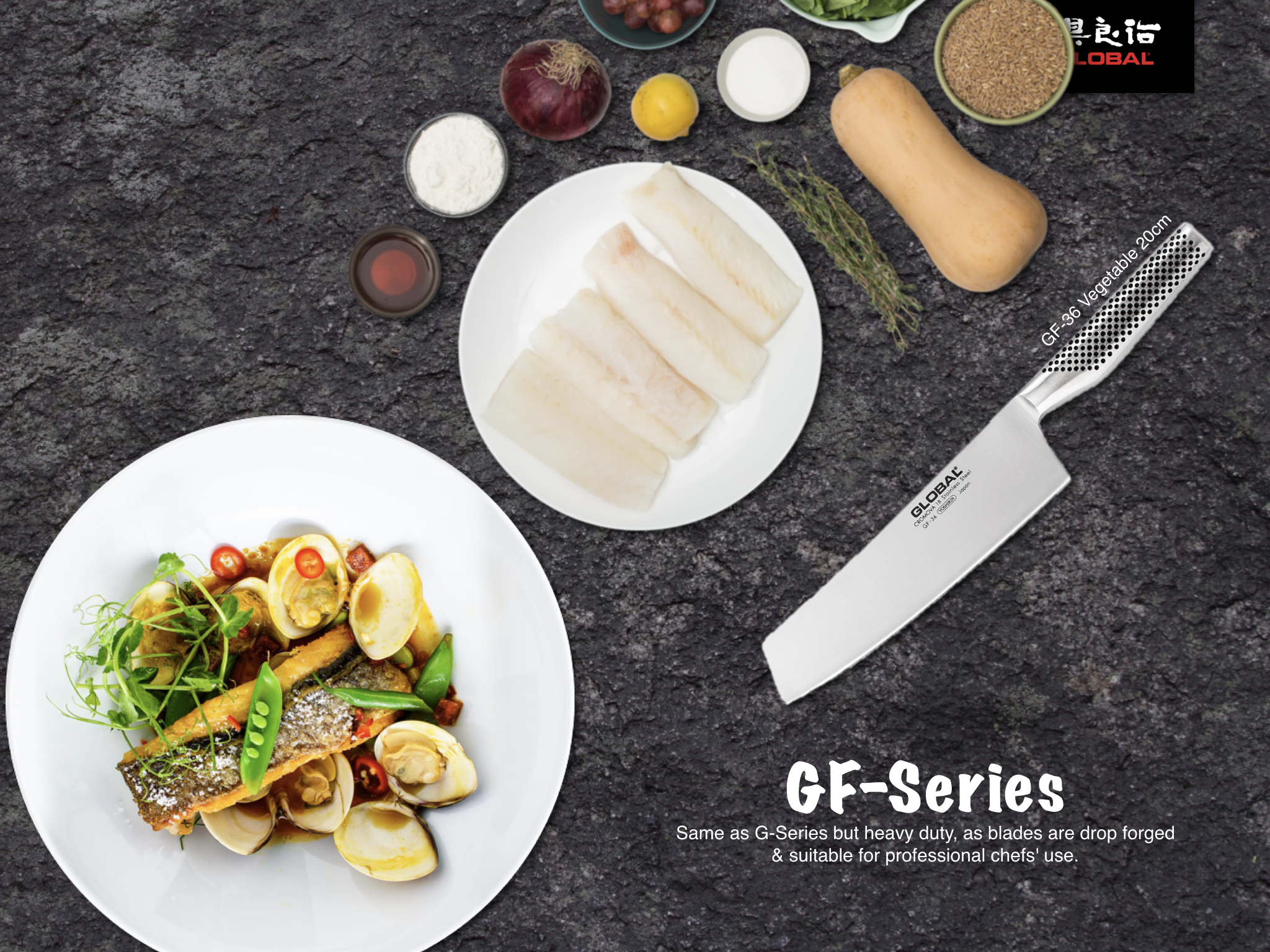 Global Knives GF-Series