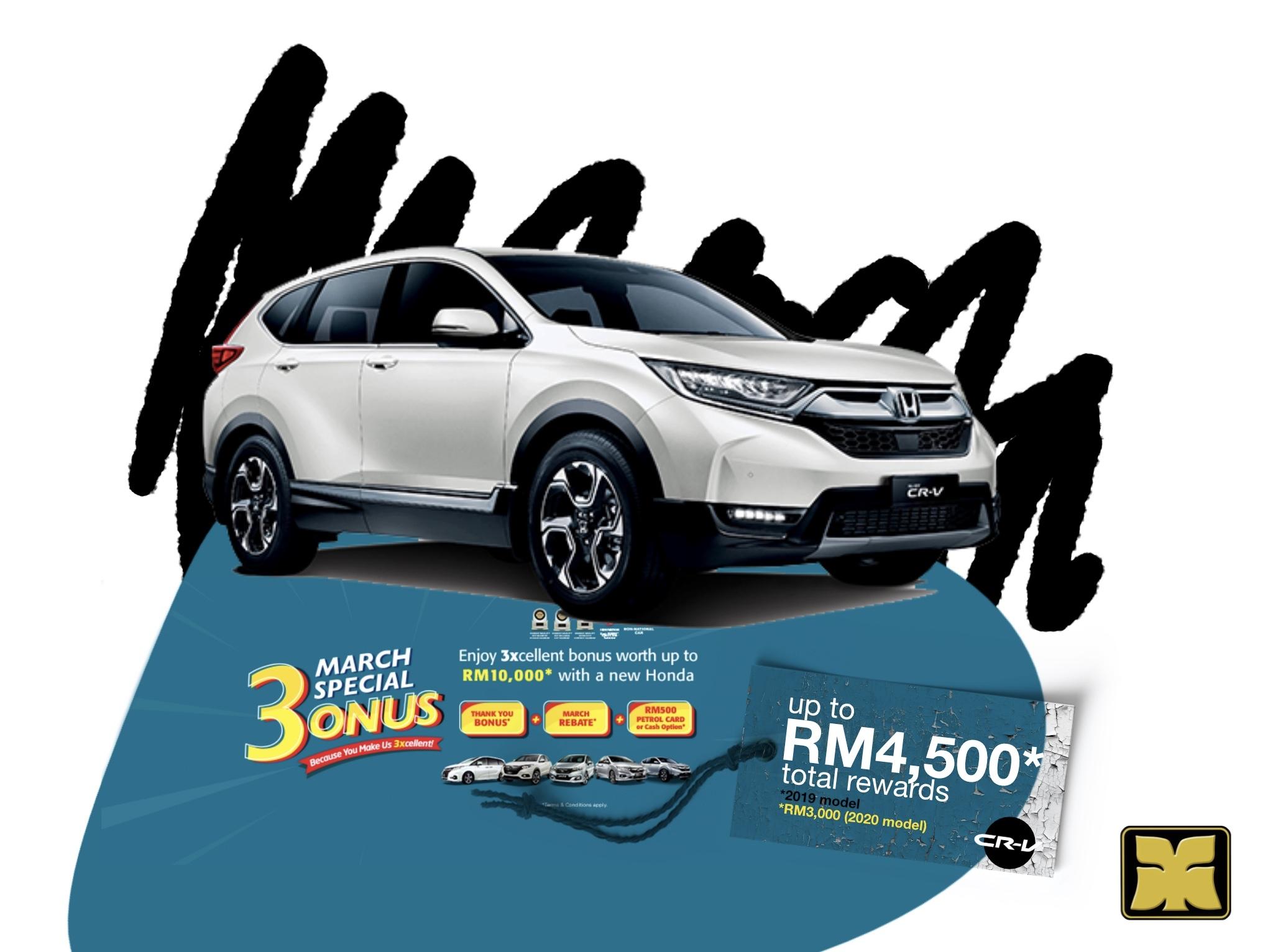 Master Stroke Yong Ming Motor Honda March Bonus CR-V
