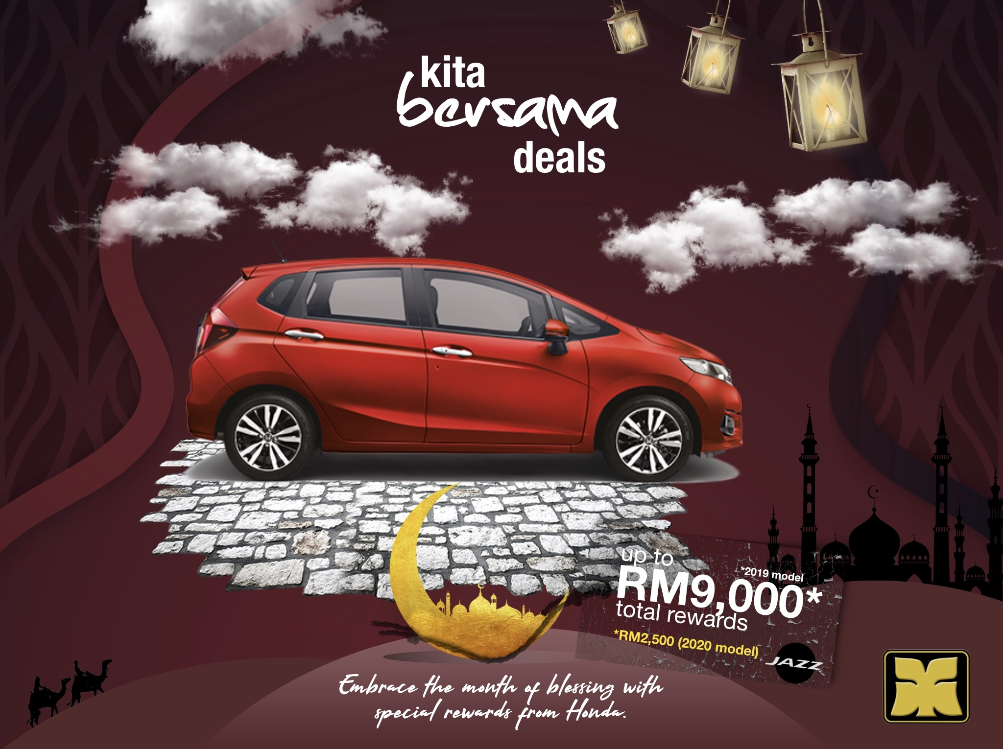 Month of Blessing Kita Bersama Deals Yong Ming Honda Jazz