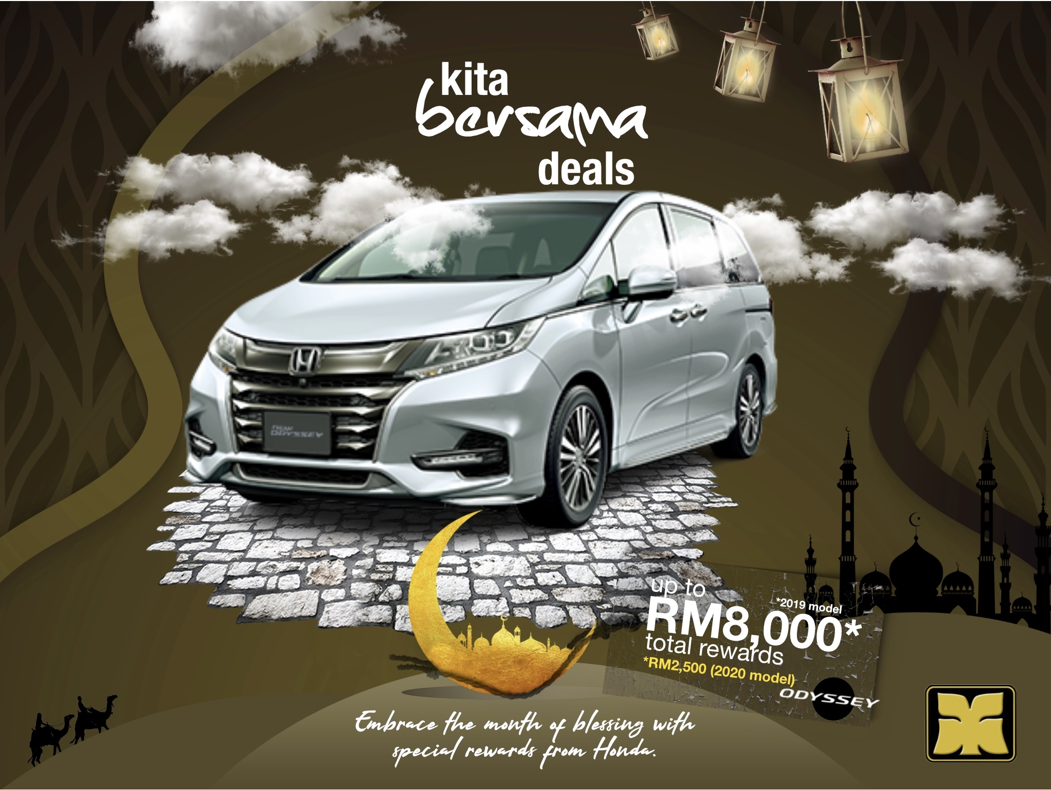 Month of Blessing Kita Bersama Deals Yong Ming Honda Odyssey