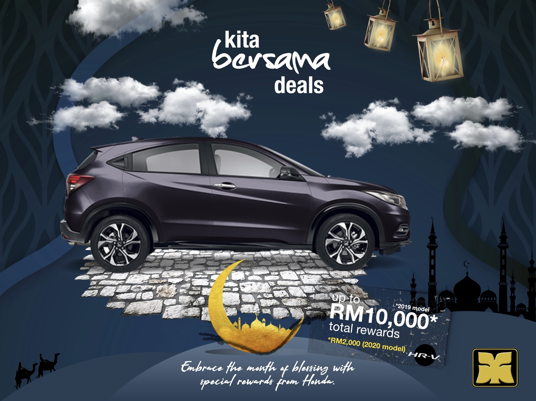 Month of Blessing Kita Bersama Deals Yong Ming Honda HR-V