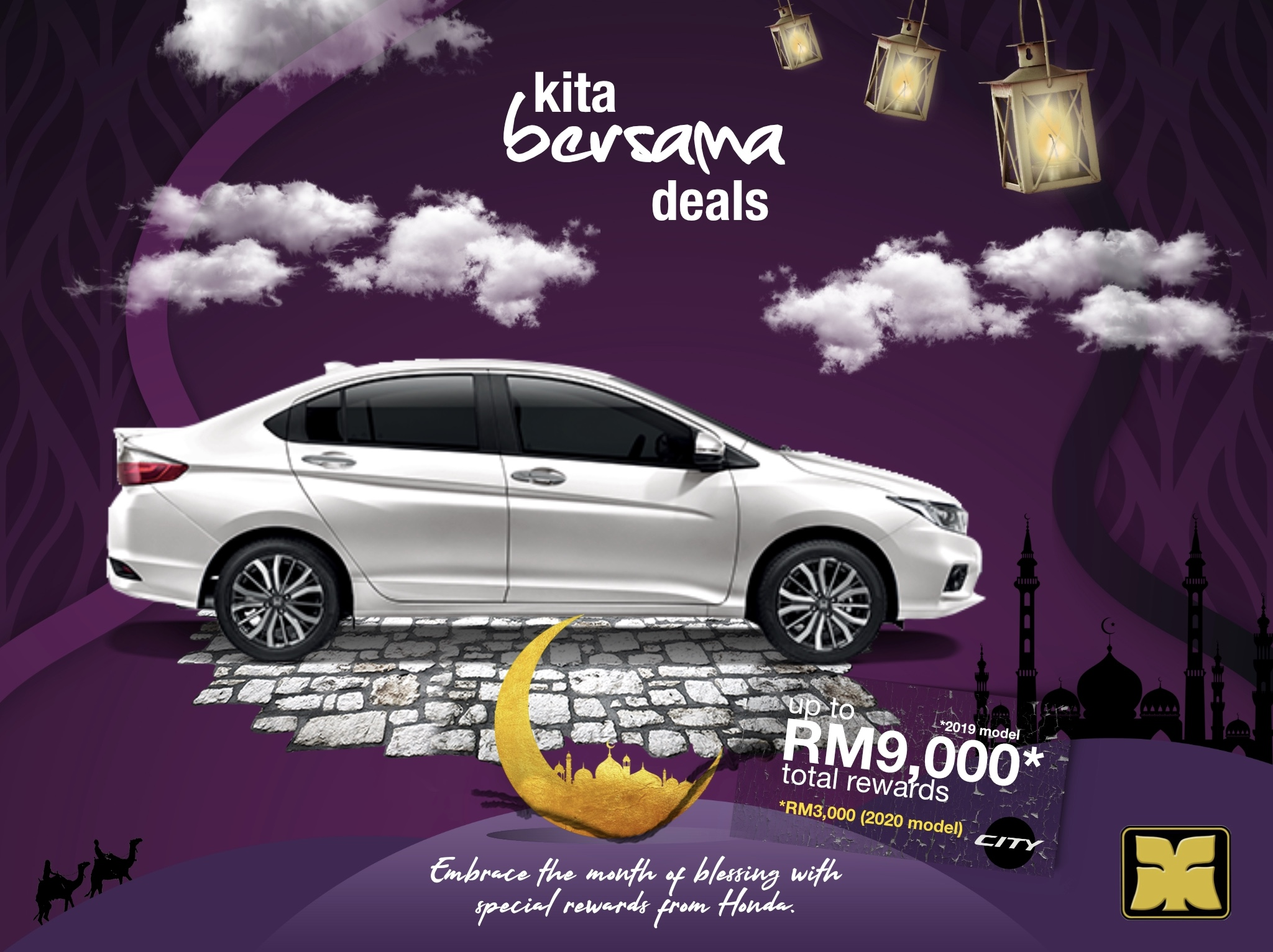 Month of Blessing Kita Bersama Deals Yong Ming Honda City